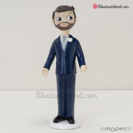 Figura Novio Pop & Fun con barba