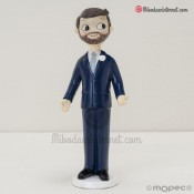 Figura Novio Pop & Fun con barba