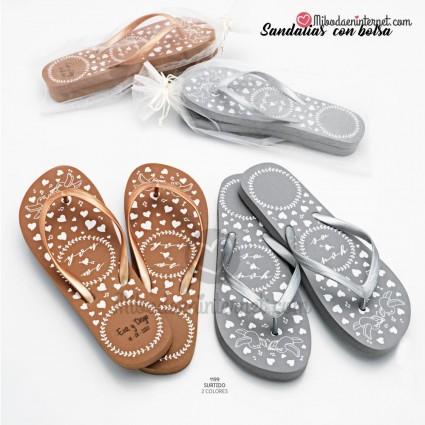 Sandalias Oro / Plata