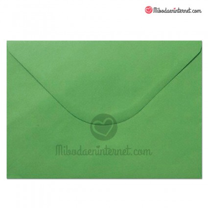 Sobre C5 Color Verde