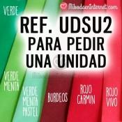 C5 Muestra de Sobres Rojos y Verde