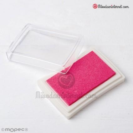 Tinta Rosa para sellos 7,5x5,2cm