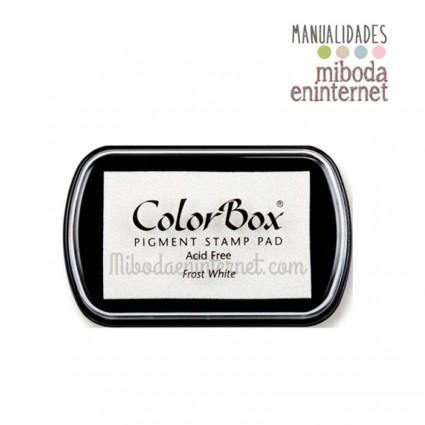 Tampon de Tinta Colorbox Blanco