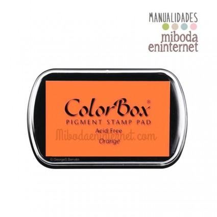 Tampon de Tinta Colorbox Naranja