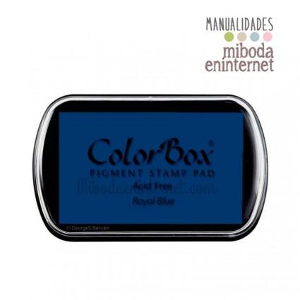 Tampon de Tinta Colorbox Azul Royal blue