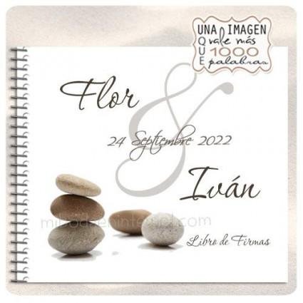 Libro de Firmas modelo Zen