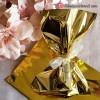 Bolsa Metalizada Venecia oro