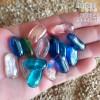 Piedras de cristal para decorar, acuarios, peceras, jardines