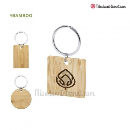 LLavero Bambú
