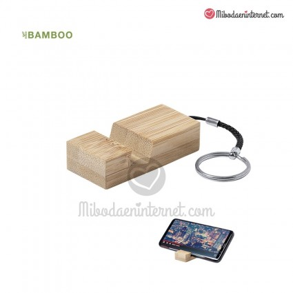 LLavero Soporte Bambú