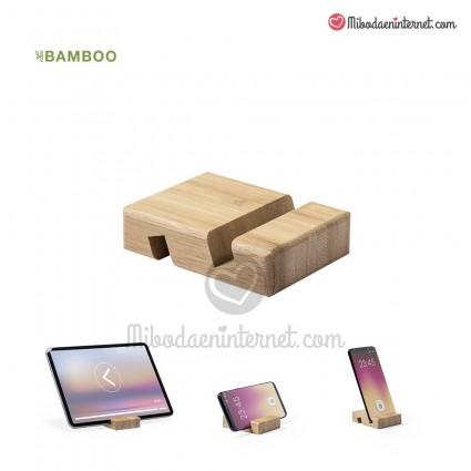 Soporte Móvil Bambú