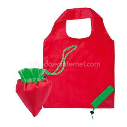 Bolsa Plegable Fruit Fresa