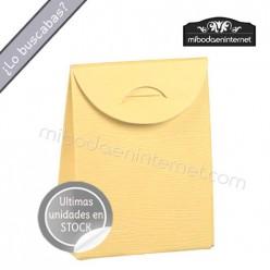 Cajita Sobre Amarilla 6,5x8,5x3