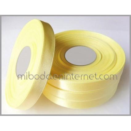 Cinta Raso Amarillo Pollito 10mm - Metro