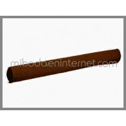 Rollo Papel Crepé Marrón Chocolate 50 cms x 2,5 mts