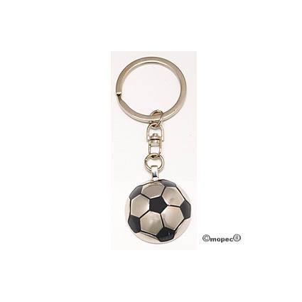 Llavero Metal Pelota Fútbol