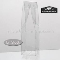Caja Acetato Transparente c/cierre arriba 15,5 x 5 cms