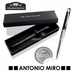 Bolígrafo Metal Antonio Miro con puntero