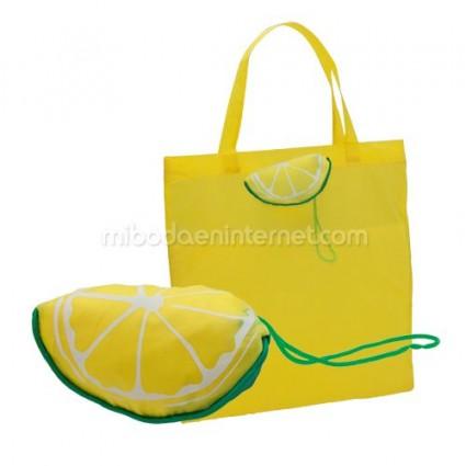 Bolsa plegable Fruit Limón