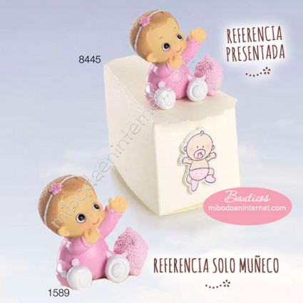 Niña Bebé Diadema Rosa 4.5 cms