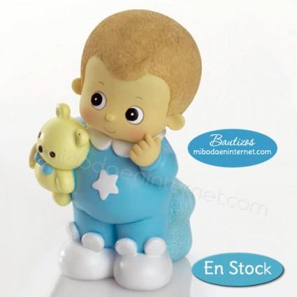Hucha Bebé Celeste Bracitos