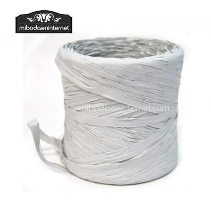 Rafia Vintage Blanco Roto - precio por metro