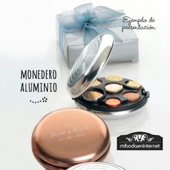 Monedero Aluminio Organizador Monedas /caja