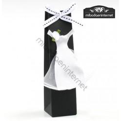 Caja alta con vestido Novia
