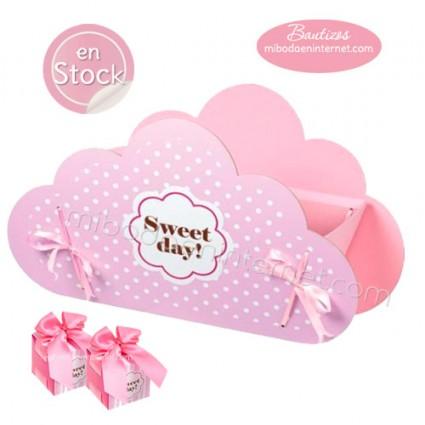 Caja presentación Nube Sweet Day rosa