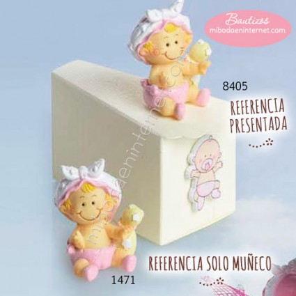 Niña Bebé Pañal Rosa
