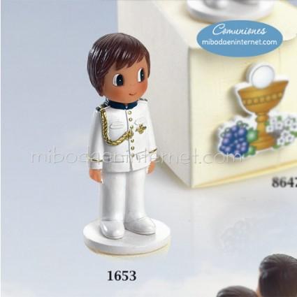 Niño Comunión Almirante Blanco 7 cms