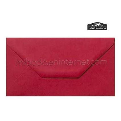 Sobre Americano Color Rojo Carmín - SWAC31