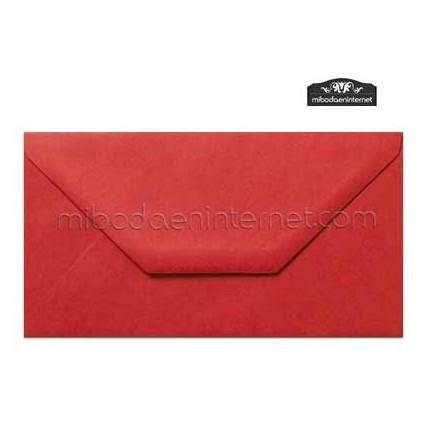 Sobre Americano Color Rojo - SWAC32