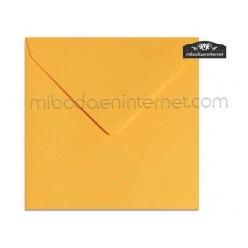 Sobre Cuadrado 15,5 Color Amarillo Huevo - SWQC34