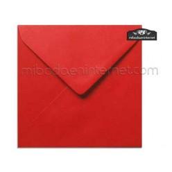 Sobre Cuadrado 15,5 Color Rojo - SWQC32