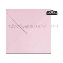 Sobre Cuadrado 15,5 Color Rosa - SWQC12