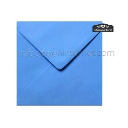 Sobre Cuadrado 15,5 Color Azul - SWQC26