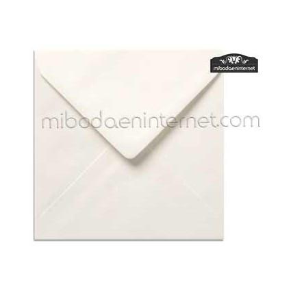 Sobre Cuadrado 15,5 Color Blanco - SWQC08