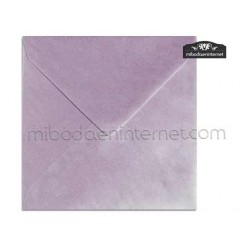Sobre Cuadrado 15,5 Color Metalizado Lila - SWQC13