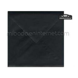Sobre 17x17 Metalizado Negro Forja - STARNEGRO