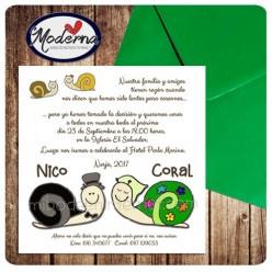 Invitacion Boda + Sobre - B617154