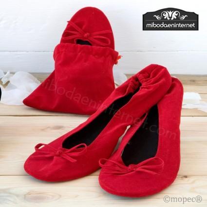 Bailarina Terciopelo Roja