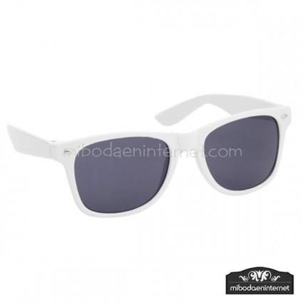 Gafas de Sol Blanco Negro