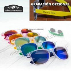 Gafas de sol con patilla color