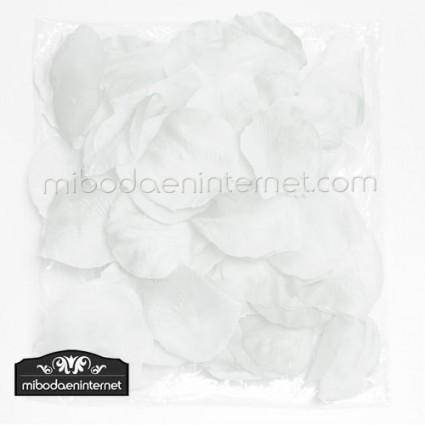 Pétalos Rosa color blanco 144 ud