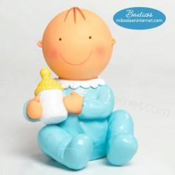 Figura Pastel Hucha Pit sentado Biberón 15cm