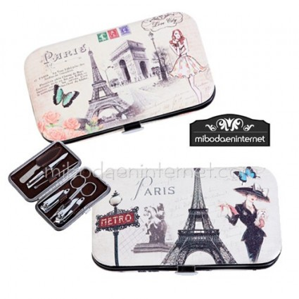 Set manicura motivos Paris