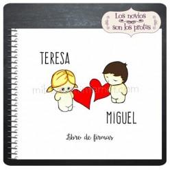 Libro de Firmas Boda Aires de Amor