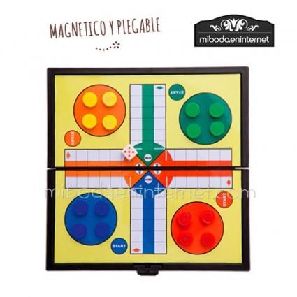 Juego magnético para niños - Parchis