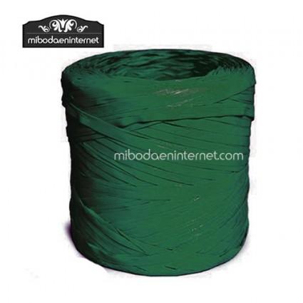Rafia Verde oscuro - precio por metro